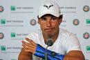 «Pas de date fixée pour le retour» de Rafael Nadal