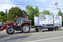 La colère des producteurs laitiers ne retombe pas
