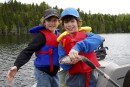La famille Gauthier mordue de la pêche