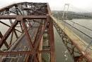 Pont de Québec: le MTQ avait laissé le CN éviter la peinture