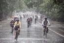 Tour de l'Île: quelque 20000cyclistes ont bravé la pluie