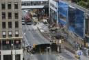 Affaissement majeur au centre-ville d'Ottawa