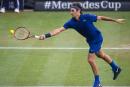 La pluie freine les élans de Roger Federer