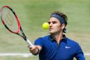 Rentrée réussie pour Roger Federer à Stuttgart