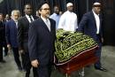 Début de l'adieu universel à Muhammad Ali
