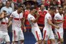 La Suisse défait l'Albanie1-0
