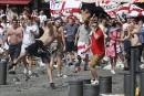 Incidents à Marseille: un partisan anglais entre la vie et la mort