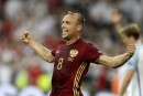 La Russie et l'Angleterre font match nul 1-1