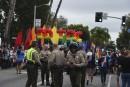 Un homme arrêté à Los Angeles avant la parade de la fierté gaie