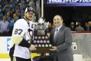 Sidney Crosby remporte le trophée Conn-Smythe