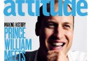 Le prince William en une d'un magazine gai