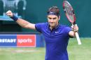 Bon départ pour Roger Federer à Halle