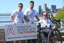 700 km d'unicycle pour des bras robotisés