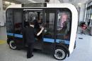 IBM se joint à un projet de minibus autonome