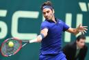 Roger Federer dans le carré d'as à Halle