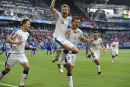 Les Tchèques mettent en échec la Croatie, trahie par ses fans