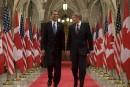 Présence policière accrue pour les présidents Obama et Nieto