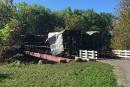 Les flammes détruisent à nouveau le pont Brabant-Philippe