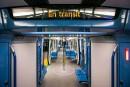 Les nouveaux trains Azur du métro de Montréal sont retirés par précaution