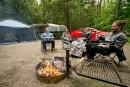 Camping: en famille au parc de la Yamaska