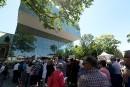 Plusieurs citoyens se sont présentés pour visiter le nouveau pavillon... | 24 juin 2016