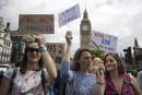 Les jeunes Britanniques furieux du Brexit
