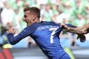 Le FrançaisAntoine Griezmann désigné meilleur joueur de l'Euro