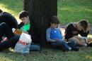 Les enfants montréalais invités à lire dehors durant l'été