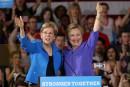 Au côté de Clinton, la sénatrice Warren attaque Trump
