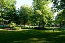 Parc Jacques-Parizeau : Les chicanes d'été