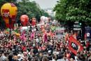 France: des dizaines de milliers de manifestants contre la réforme du travail