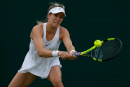 La pluie empêche Eugenie Bouchard de compléter son match