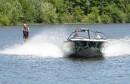 Le ski nautique sera suspendu lorsque l'eau du lac sera trop polluée