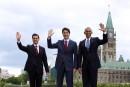Les «trois amigos» s'entendent sur un plan d'action sur le climat