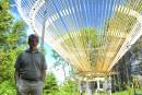 Cinq nouvelles installations aux Jardins de Métis