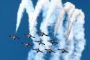 Acrobaties aériennes spectaculaires à Gatineau en vol