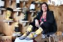 Ces bottes sont faites pour... aider les femmes autochtones