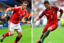 Portugal-pays de Galles: Ronaldo contre Bale