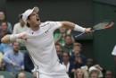 Wimbledon: Murray vient à bout de Tsonga pour aller en demi-finales