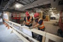 Des ouvriers débraient au chantier du CHUM en raison de la chaleur