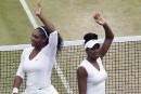 Wimbledon: les soeurs Williams en finale du double dames