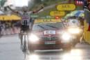 Tour de France: Dumoulin gagnela 9e étapesous l'orage