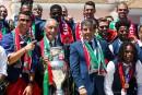 Les champions d'Europe accueillis en héros au Portugal