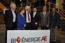 76,5M$de Québec et Ottawapour l'usine de biocarburant de Port-Cartier