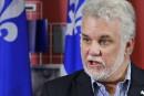 Pas de moratoire pour Optilab, dit Philippe Couillard