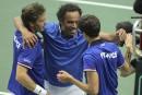 Coupe Davis: les Français en avance2-1 face aux Tchèques