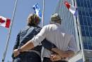 Québec pleure avec la France