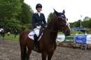 Avec son cheval à ses premiers Jeux olympiques à Rio