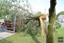 Des vents très violents ont causé des dégâts en Montérégie