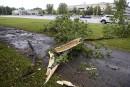 La région du Saguenaybalayée par de forts vents